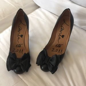 Lanvin heels with bows